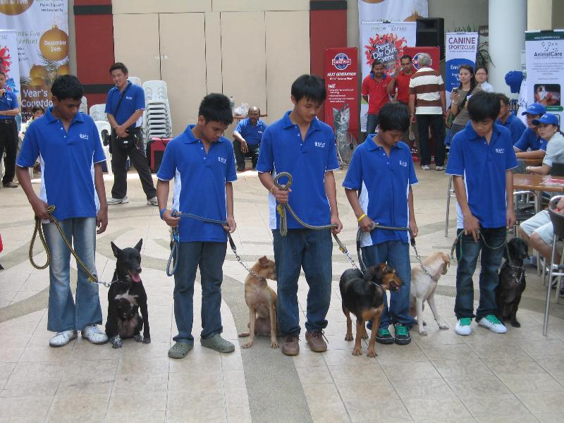 Canine Sportzclub & Ti – Ratana children Demo Team @ Jaya One 06 Dec 09