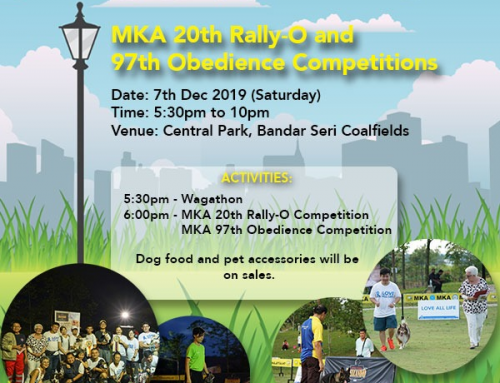 MKA 20th Rally-O and 97th Obedience Competitions